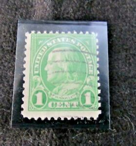 LOT OF THREE 1 Cent Franklin Stamp Cancelled Standard Shipping Included.