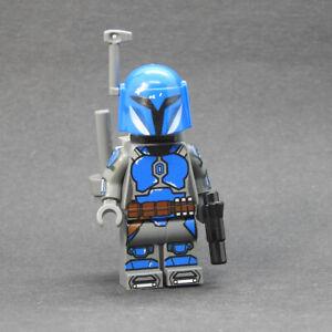 Custom Star Wars minifigures Mandalorian s2 Axe on lego brand bricks