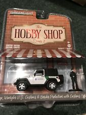 Greenlight Hobby Shop Series 2  2016 Jeep Wrangler  U.S. Customs & Border