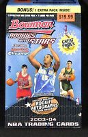 2003-04 Bowman Rookies and Stars Basketball Retail Blaster Box (6 packs)