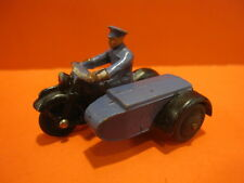 Original Dinky Toys #43B Rac Motorcycle Patrol with Side Car 1946-49