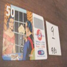 ricarica TIM mandrake scadenza MARZO 2001 lire 50000 9
