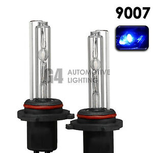 2X NEW HID XENON HB5 9007 Headlight Replacement Bulbs AC 35W 10000K Deep Blue