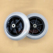 """2pcs 8""""x 2"""" Wheelchair Rear Caster Tires for Pride Jazzy/Jet Electric"""