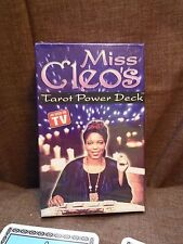 TAROT CARD DECK BY MISS CLEO BRAND NEW & SEALED+FREE TAROT BAG & CRYSTALS