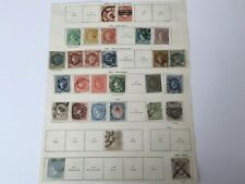 old stamps  SPAIN  hinged on 2 sides