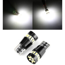 2X T10 501 194 W5W SMD 24 LED Car HID White CANBUS Error Free Wedge Light Bulbs