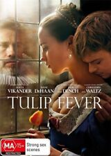 TULIP FEVER DVD, NEW & SEALED, 2018 RELEASE, REGION 4, FREE POST