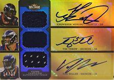 2011 Topps Triple Threads Moreno-Tebow-SB 50 MVP Miller  - 14 of 27