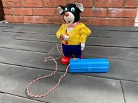 SAN Japan Smoking Battery Operated Papa Bear - Excellent & Fully Working Rare