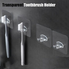 Self-adhesive Storage Hook Toothbrush Holder Bathroom Products Wall Mounted