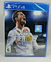 * New *   FIFA 18 (Sony PlayStation 4, 2017) *Free Shipping*