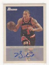 2009-10 Bowman 48 Basketball Autograph Auto Derrick Rose