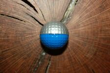 VINTAGE DARK BLUE AND SILVER PING GOLF BALL MUST SEE !!!!  RARE!!!