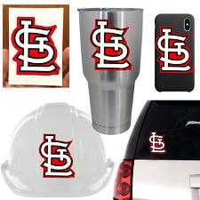 5 St Saint Louis Cardinals Vinyl Decal Sticker Car Window Cornhole Helmet Laptop