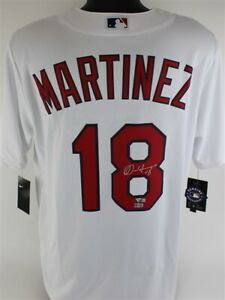 Carlos Martinez Signed St. Louis Cardinals Nike MLB Replica Jersey (Fanatics)