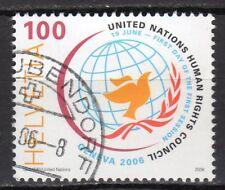 Switzerland - 2006 Human rights council -  Mi. 1977 VFU