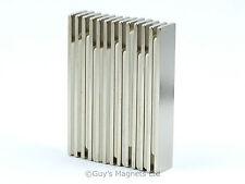 5 N35 50mm x 10mm x 1.5mm strong thin neodymium block magnets craft DIY MRO
