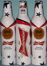 2012 Olympic Team USA BUDWEISER Bud Bottle Can London Michael Phelps James
