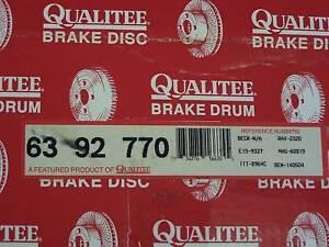 Qualitee D92770 Rear Brake Drum fits Ford E250 E350 F250 F350 Econoline PU