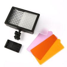 Professional Universal 160 LED Video Light Lamp for Canon Nikon SLR Camera DC DV