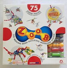ZOOB 75-Piece Set by Infinitoy NEW building toy