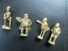 Vintage Brass Pipe Tamper - Dickens Character -  4 Tampers