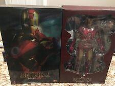 Hot Toys MMS 123 Iron Man 2 Mark IV 4 Tony Stark 12 inch Action Figure NEW