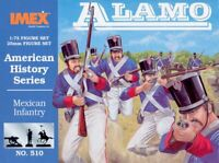 Imex 1/72 Alamo Mexican Infantry # 510