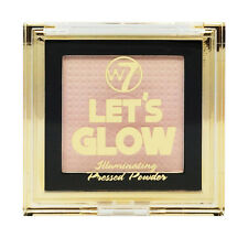 W7 Lets Glow Illuminating Highlighting Face Pressed Powder