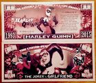 Harley Quinn Million Dollar Bill ( Batman Joker )