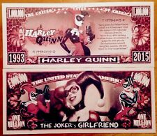 Harley Quinn Million Dollar Bill ( Batman Joker )