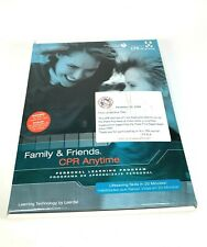 Friends And Family CPR Anytime Training Kit Manikin New Learning AHA Eng & Span