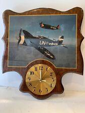 VTG Republic P-47 Thunderbolt Spirit of Atlantic City NJ Aviation Photo Clock