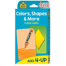 Colors Shapes & More Flash Cards