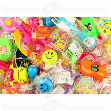 100 PINATA PARTY BAG FILLERS, LUCKY DIP PRIZES,50 toys,50 tattoos,tombola prize