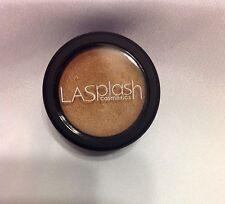 LA Splash Make Up Single Full Size Metallic Light Brown Sugar Cream Shadow