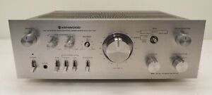 Vintage Kenwood KA-7100 DC Stereo Integrated Amplifier for Parts Missing Knobs