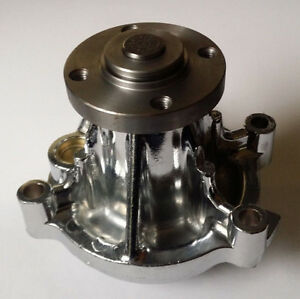 Water Pump CHROME FORD 4.6L 281 Long Mustang T-Bird High Flow Volume ALUMINUM