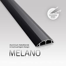 eSmart Germany Aluminium Kabelkanal MELANO schwarz