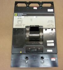 Square D Mal 3 pole 500 amp 600v Mal36500 Circuit Breaker Gray Label Ur