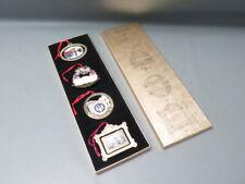 1994 - 1997 White House Historical Association Christmas Ornament Set Of 4