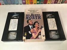 Mr. & Mrs. North: Murder For Sale & The Nobles VHS 1952 TV Mystery Comedy 2-Tape