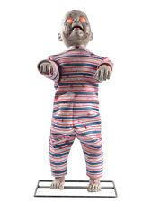 Lil Walker Standing Zombie Baby Animated Halloween Decoration Animatronic Prop