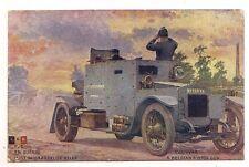 en guerre auto mitrailleuse  belge ..