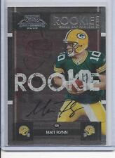 MATT FLYNN 2008 PLAYOFF CONTENDERS ROOKIE TICKET PACKERS SP RARE AUTO RC #177