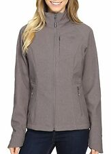 The North Face Apex Bionic 2 Womens Soft Shell Jacket Small Rabbit Grey Heather