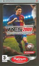 Pro Evolution Soccer PES 2009 Platinum SONY PSP IT IMPORT KONAMI