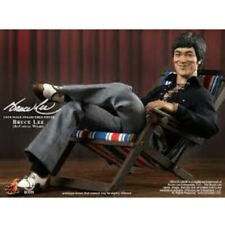 "USA seller HOT TOYS 1/6th 12"" MIS 12 M Icon Bruce Lee Casual Wear ACTION FIGURE"