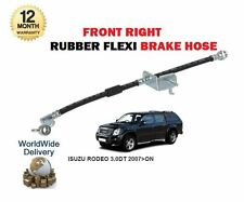 ISUZU RODEO 3.0DT TFS85 4JJ1-TC 2007-> RIGHT SIDE FRONT RUBBER FLEXI BRAKE HOSE